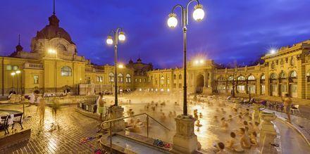 Kylpylä Budapestissa, Unkarissa.