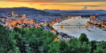 Budapest, Unkari - yksi Euroopan suosituimmista matkakohteista.