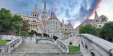 Kalastajanlinnake Budapestissä, Unkarissa.