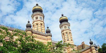 Budapestin suuri synagoga on myös Euroopan synagoga.