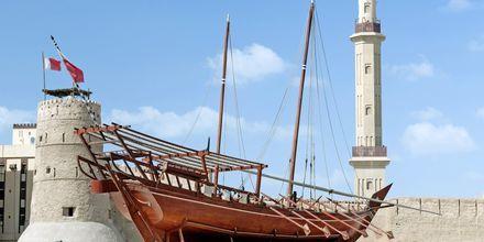 Dubai museo ja Al Fahidi-linnoitus, Bur Dubai, Arabiemiraatit.