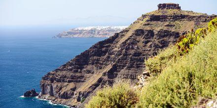Caldera ja Egeanmeri, Santorini.