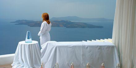 Spa. Hotelli Caldera's Lilium, Santorini, Kreikka.