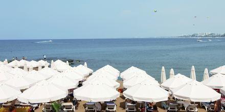 Läheinen ranta. Hotelli Can Garden Beach, Side, Turkki.
