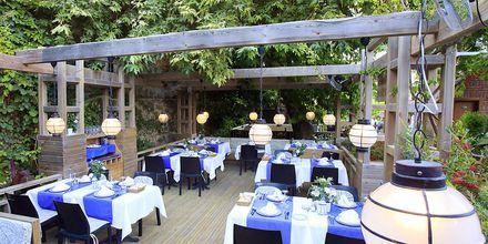 Ravintola. Hotelli Can Garden Beach, Side, Turkki.
