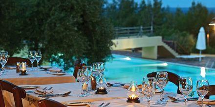 Ravintola Agapi. Hotelli Candia Park Village, Kreeta, Kreikka.