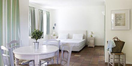 Yksiö. Hotelli Candia Park Village, Kreeta, Kreikka.