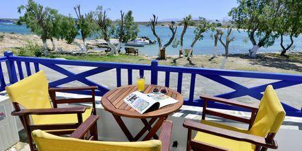 Yksiö. Hotelli Captain Nicolas, Paros, Kreikka.