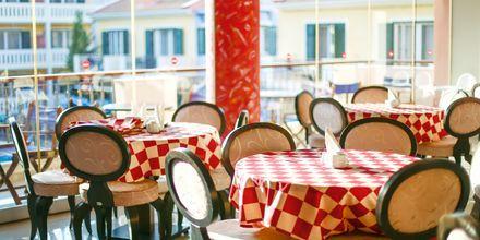 Aamiainen, hotelli Captain Stavros. Lefkas, Kreikka.