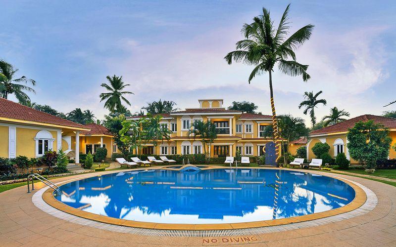 Sviittien allas, Hotelli Casa de Goa, Intia.