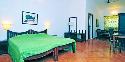 Kahden hengen huone, Chalston Beach Resort, Pohjois-Goa, Intia.
