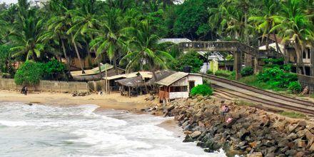 Mount Lavinia sijaitsee Colombon ulkopuolella.