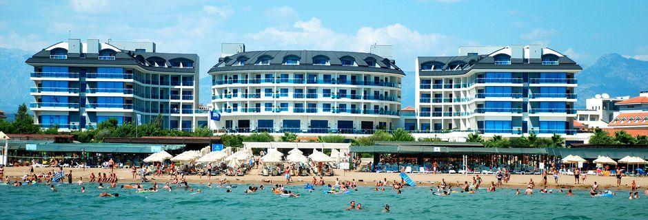 Ranta, Hotelli Commodore Elite Suites & Spa, Side, Turkki.