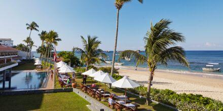 Läheinen ranta. Hotelli Coral Sands, Hikkaduwa, Sri Lanka.