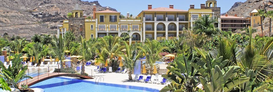 Allasalue, Hotelli Cordial Mogan Playa, Puerto Mogan, Gran Canaria.