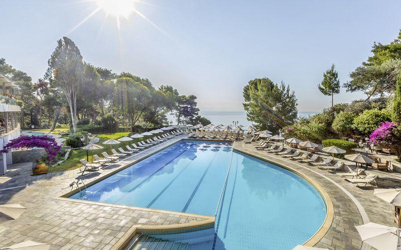 Allas, Hotelli Corfu Holiday Palace Kanoni, Korfu.