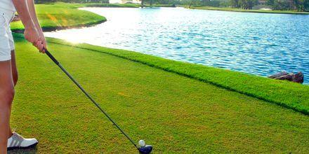 Golfkenttä. Costa Calma, Fuerteventura.