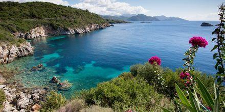 Näkymä hotellista, Hotelli Costa Smeralda, Sivota, Kreikka.