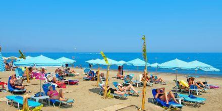 Ranta, hotelli Costas & Christina. Platanias, Kreeta, Kreikka.