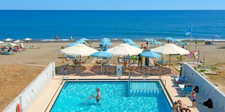 Allas, hotelli Costas & Christina. Platanias, Kreeta, Kreikka.