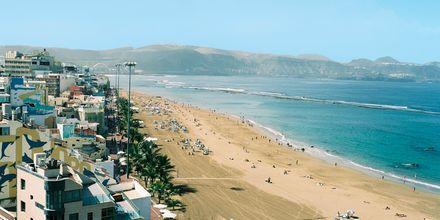 Ranta hotellin edustalla, Christina Las Palmas, Gran Canaria.