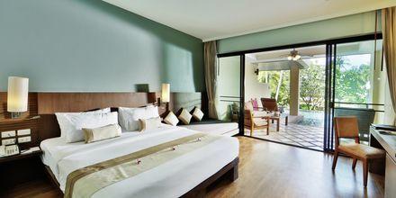 Kahden hengen huone, hotelli Crown Lanta Resort & Spa. Koh Lanta, Thaimaa.