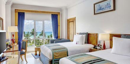 Kahden hengen huone, hotelli Crowne Plaza Resort. Salalah, Oman.