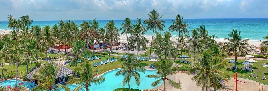 Hotelli Crowne Plaza Resort. Salalah, Oman.