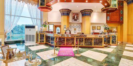 Lobby, hotelli Crowne Plaza Resort. Salalah, Oman.