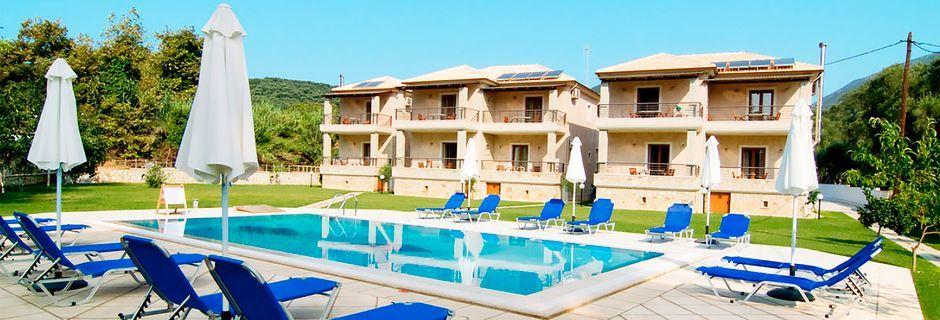Hotelli Dalouda, Parga, Kreikka.