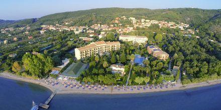 Hotelli Delfinia, Moraitika, Korfu, Kreikka.