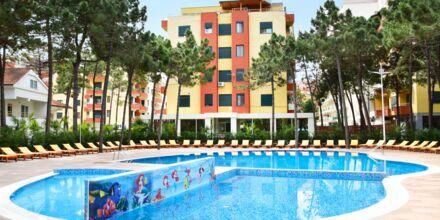 Hotelli Diamma Resort, Durres Riviera, Albania.
