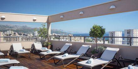Aurinkoterassi, Hotelli Dioklecijan Hotel & Residence, Split, Kroatia.