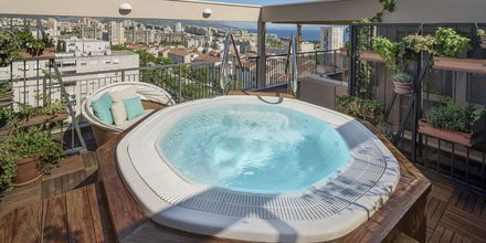 Jacuzzi, Hotelli Dioklecijan Hotel & Residence, Split, Kroatia.