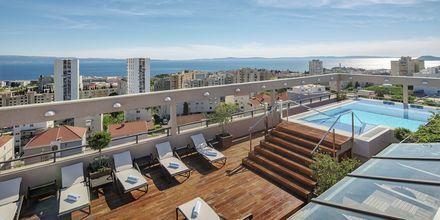 Kattoallas, Hotelli Dioklecijan Hotel & Residence, Split, Kroatia.