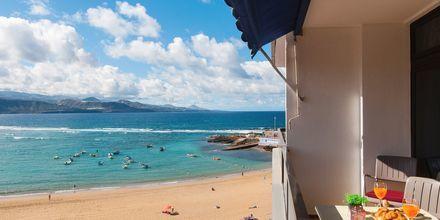 Suurempi yksiö, Hotelli Don Carlos, Las Palmas, Gran Canaria.