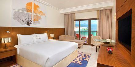 Kahden hengen huone, Hotelli Doubletree by Hilton Marjan Island, Ras al Khaimah.