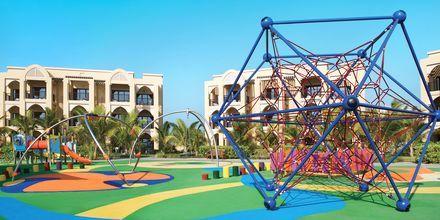 Leikkipaikka, hotelli Doubletree by Hilton Marjan Island. Ras al Khaimah, Arabiemiraatit.