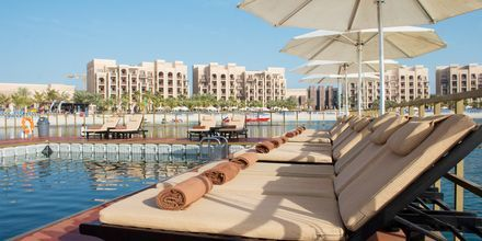 Meriallas, hotelli Doubletree by Hilton Marjan Island. Ras al Khaimah, Arabiemiraatit.