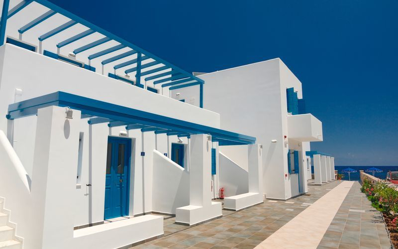 Hotelli Dream Island, Tilos, Kreikka.