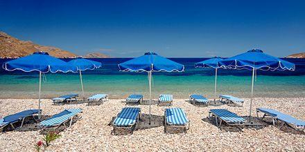 Ranta. Hotelli Dream Island, Tilos, Kreikka.
