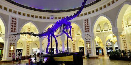 Dubai Mall ostoskeskus, Dubai, Arabiemiraatit.