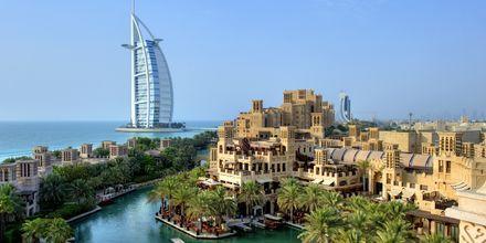 Dubai ja 7 tähden luksushotelli Burj Al Arab, Dubai,  Arabiemiraatit.