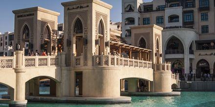 Dubai Mall -ostoskeskus, Dubai, Arabiemiraatit.