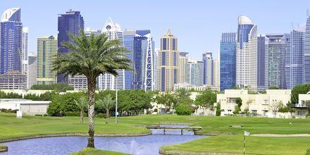 Golfkenttä, Dubai, Arabiemiraatit.