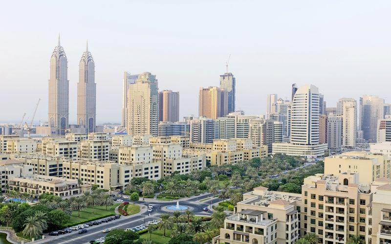 Al Barshan alue, Dubai.