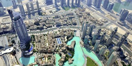 Näkymä Burj Khalifasta, Dubai, Arabiemiraatit.