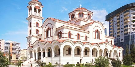 Saint Paulin ja Saint Astiuksen katedraali, Durresin Riviera, Albania.