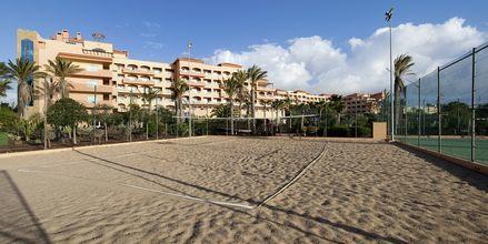 Rantalentopalloa, Hotelli Elba Sara, Fuerteventura.
