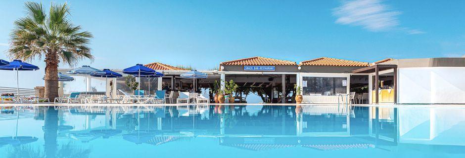 Allasalue, hotelli Elvita, Rodos.